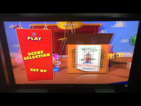 PIXAR 1b. Toy Story Blu-ray 3D Menu