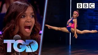 Video Pocket-rocket Shyla WOWS with explosive moves! 🚀 - The Greatest Dancer | Auditions MP3, 3GP, MP4, WEBM, AVI, FLV Januari 2019