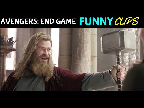 Avengers: End Game Funny Clips in Hindi #2