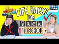 Back To School LIFE HACKS Every Student Should Know