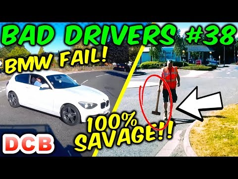 UK Dash Cam - Bad Drivers Of Bristol #38