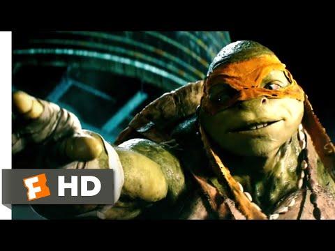Teenage Mutant Ninja Turtles (2014) - April Meets the Turtles Scene (2/10)   Movieclips