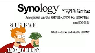 An update on the Synology DS918+, DS718+, DS3018xs and DS418J – What we know and what is still TBCI think it is safe to say that Synology have really taken their sweet time this year releasing their latest NAS for 2017 and 2018. We got so used to new units being almost all revealed by late spring, that is started to look around May that Synology were just gonna put their feet up and take the rest of the year off! All we seemed to see were increasingly more and more enterprise units aimed at big business - as well as big leaps in business features and functionality with their DSM software (LiveChat, office tools, improved Virtual machine management, collaboration applications and more), but very little in the way of a Synology NAS for home and SMB. That all changed however at Cebit 2017 and Computex when inside the space of 2 weeks we were suddenly inundated with new Synology Diskstation NAS, and all arriving with the '18 year model number (not '18' as in those movies you were NEVER allowed to watch as a kid, but always did... thank you RoboCop).Why haven't Synology released the DS918+, DS718+, DS3018xs NAS yet? It must be difficult trying to find the sweet spot to release a new NAS (whilst effectively retiring the older unit). You effectively have two NAS audiences to consider, with of course the end goal of getting them to buy something. Either you already own a NAS you bought last year and don't want Synology to release a follow up too-soon and leave you feeling that you bought an obsolete NAS. Or alternatively you might be someone who is ready to buy a new NAS (perhaps it is your first step into Network Attached Storage, or you are upgrading an old 2011 or 2012 system) and are not prepared to buy anything that isn't released effectively NOW.So I can genuinely appreciate that Synology NAS want to capitalise on their investment, get the most bang for buck out of production and release units at the best possible time. However so many of you are now clambering for in