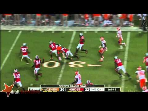 Tyvis Powell vs Clemson 2014 video.