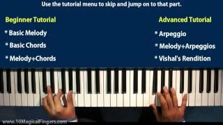 Download Lagu Tujh Mein Rab Dikhta Hain  Piano Tutorial / Lessons | Beginner & Advanced Piano Tutorial Mp3