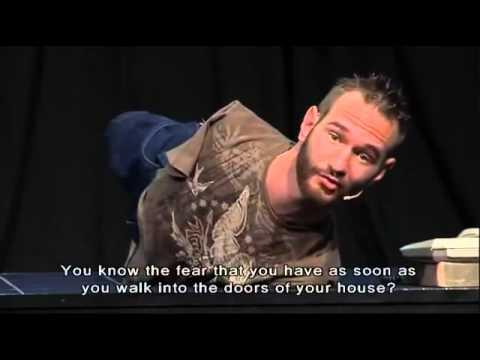 Nick Vujicic  no arms, no legs, no worries - Part 2_5 English Sub