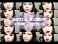 Australis velourlips review + swatches {bahasa Indonesia}   SarahAyu