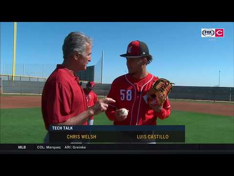 Tech Talk: Reds Starter Luis Castillo Shows Off His Arsenal Of Pitches