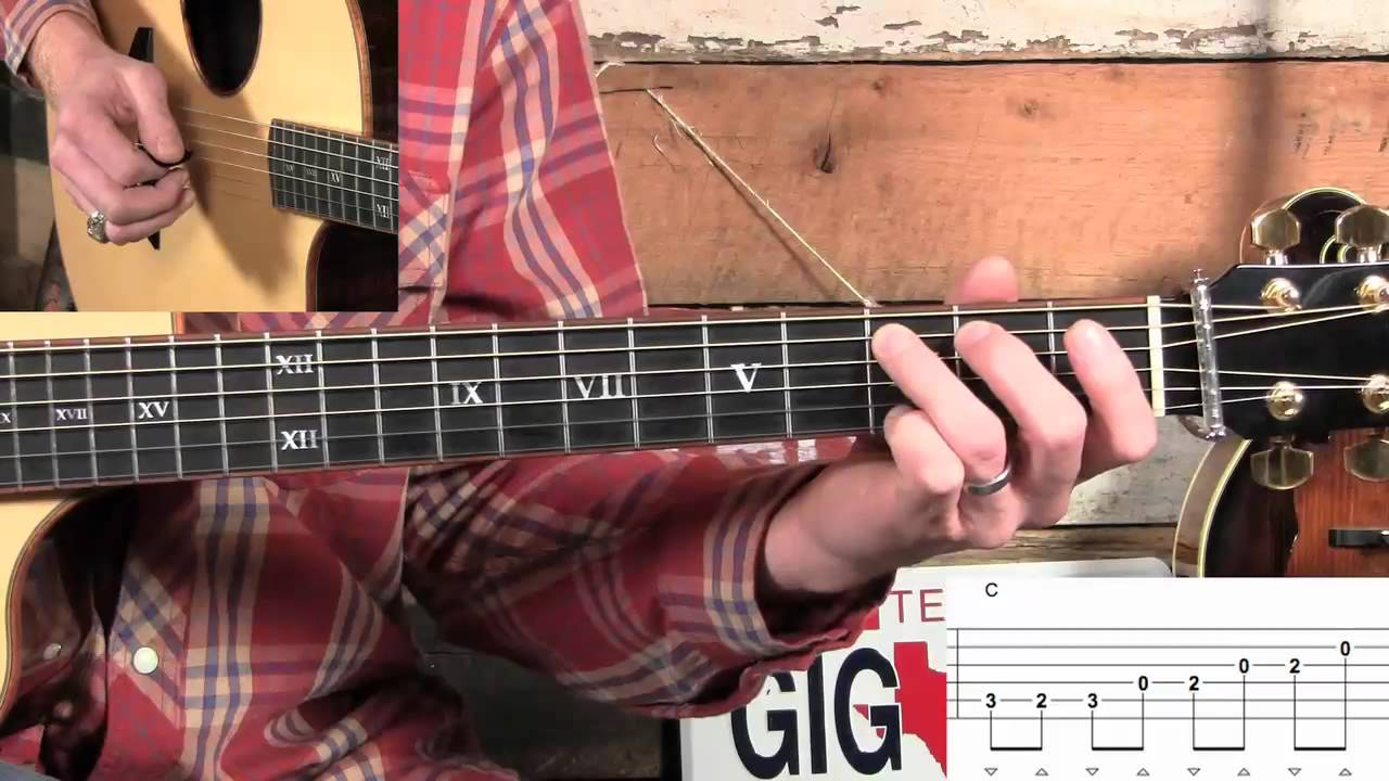 How to Flatpick Billy in the Lowground on Guitar…Basic & Advanced!