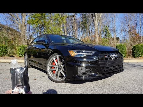 2020 Audi S6 Prestige: Start Up, Exhaust, Test Drive and Review