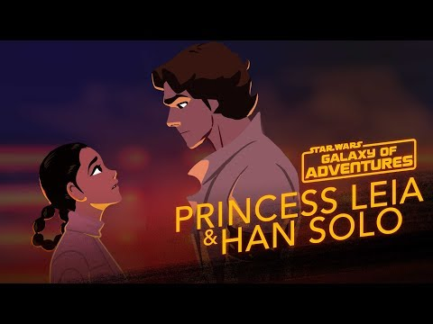 Leia and Han - The Han Rescue | Star Wars Galaxy of Adventures