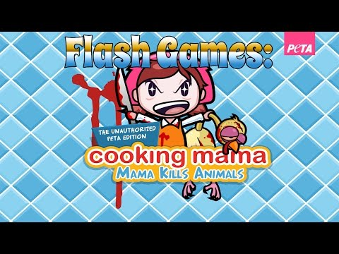 Flash Games: Cooking Mama PETA EDITION