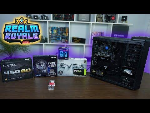 Ensamblado PC Gamer para Realm Royale | Gráficos en ultra 120FPS - Proto Hw & Tec