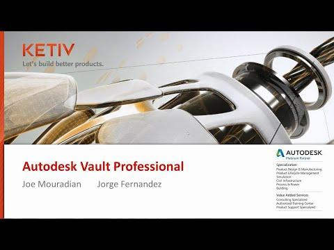 Autodesk Vault Professional Webcast