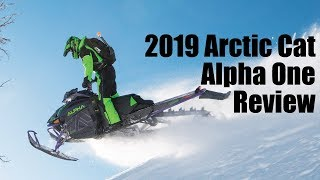 5. 2019 Arctic Cat Alpha One Mountain Cat Review