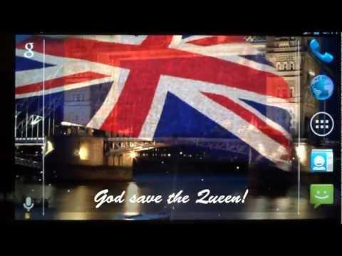 Video of 3D UK Flag Live Wallpaper