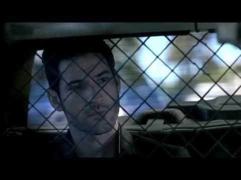Lucifer meets Trixie Lucifer season 1 episode 1 scene