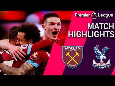 Video: West Ham v. Crystal Palace I PREMIER LEAGUE MATCH HIGHLIGHTS I 12/8/18 I NBC Sports