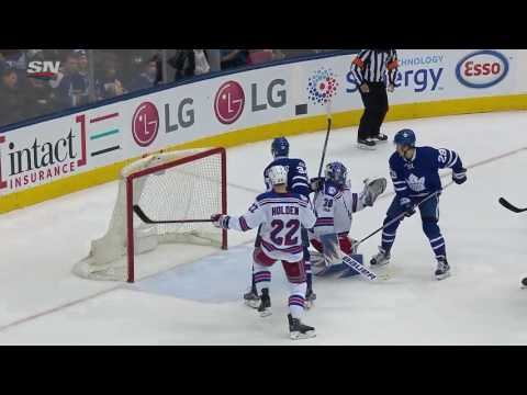 Video: New York Rangers vs Toronto Maple Leafs | NHL | 23-FEB-2017