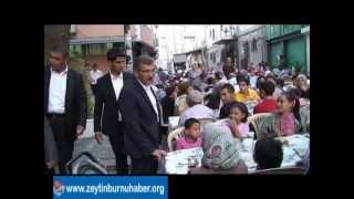 Zeytinburnu Belediyesi Sokakİftarı Gökalp Mahallesindeydi