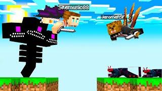 FLYING In Minecraft Monster Island