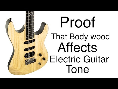 "PROOF – Wood Affects Electric Guitar Tone – Chapman ""Special Run"" Swamp Ash ML-1"