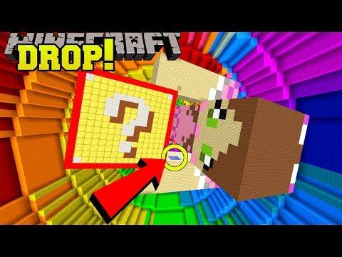 Minecraft: DROPPING ONTO GIANT JEN!!! - POPULARMMOS VS CRAINER DROPPER - Custom Map (видео)