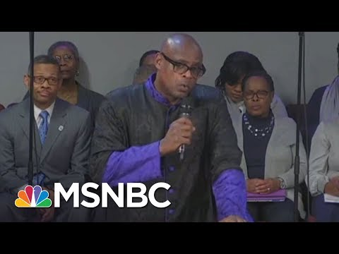 With Mike Pence In Front Row, Pastor Rips Into Donald Trump | All In | MSNBC (видео)