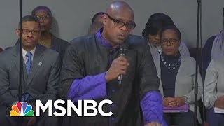 Video With Mike Pence In Front Row, Pastor Rips Into Donald Trump | All In | MSNBC MP3, 3GP, MP4, WEBM, AVI, FLV Oktober 2018