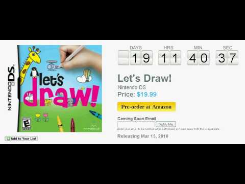 let's draw nintendo ds game