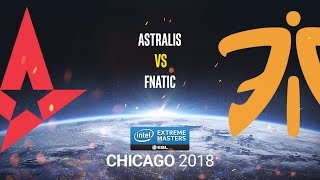 Astralis vs fnatic - IEM Chicago 2018 - map2 - de_mirage [ceh9 & CrystalMay]