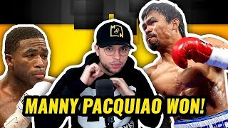 Nonton Manny Pacquiao Vs Adrien Broner   Full Fight Highlights   Post Fight Interviews   Reaction Film Subtitle Indonesia Streaming Movie Download