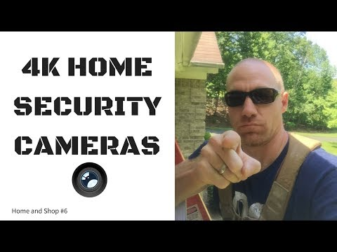 4K Home Security Cameras from Flir Lorex