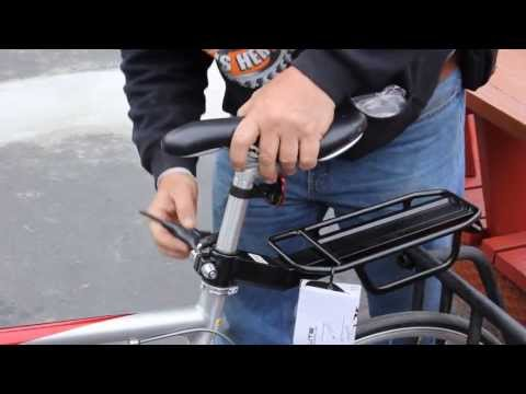 Bicycle Seat Post Rack - How To Install - BikemanforU