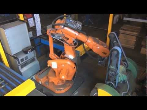 ABB Robotics - Grinding Forged Steel Parts