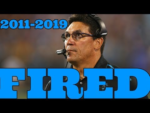 Ron Rivera FIRED from Panthers!!!!! What Happened ????