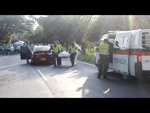 Accidente en la vía Valledupar- Bosconia deja muerto a un peatón