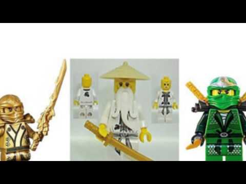 Video YouTube review of the Ninjago Minifigure Lot Of 3