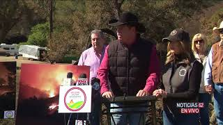 Southern CA Edison demandada por incendio Thomas- Noticias 62 - Thumbnail