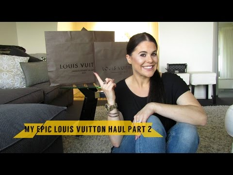 Part 2 of My Epic LOUIS VUITTON collective haul!!