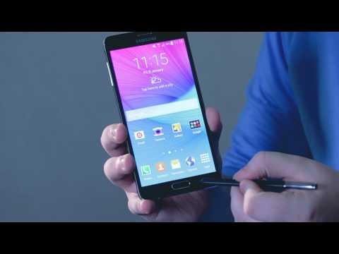 Samsung Galaxy Note 4 - jak korzystać z S Pen