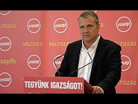Molnár Gyula keddi budapesti sajtótájékoztatóján
