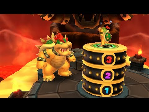 Mario Party: Island Tour - Bowser's Peculiar Peak
