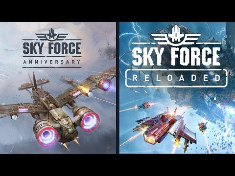 Sky Force Reloaded Anniversary And Reloaded Comparison