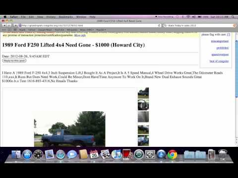 Craigslist South Bend Indiana Cars And Trucks