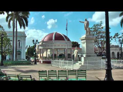Cuban life in the streets of Cienfuegos (Pearl of the South) Cuba