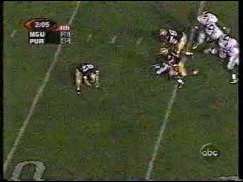 Michigan State at Purdue 1999 - Fumble Return