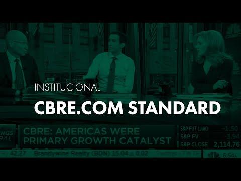 O CEO Mundial da CBRE avalia crescimento do mercado imobiliário no mundo para CNBC