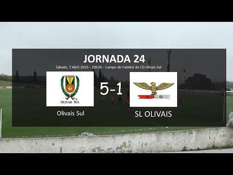 Jornada 24: Olivais Sul - SL Olivais B