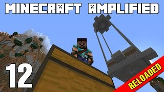 Minecraft Amplified RELOADED 12 - Xây Dựng Nhà Máy Sắt